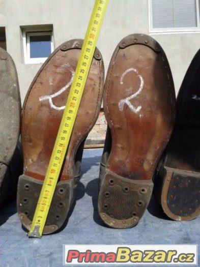Boty vysoké jezdecké, krojové