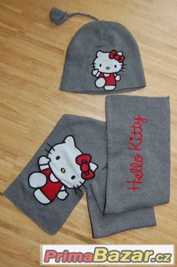 Čepice, souprava Hello Kitty