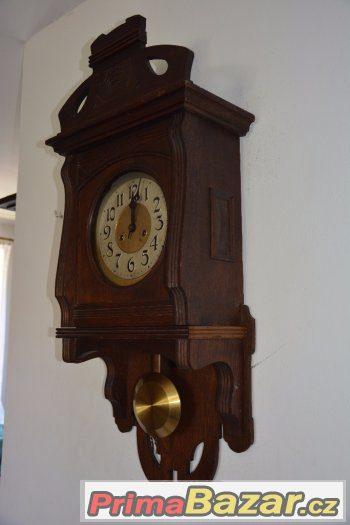 Starožitné hodiny Gustav Becker, rok 1915