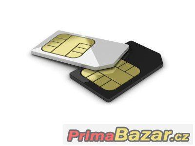 Datová SIM s mobilním internetem s FUP 10 GB - bez smlouvy