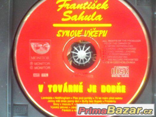 SAHULA-V TOVÁRNĚ JE DOBŘE (cd)