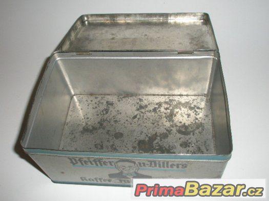 Stará plechová krabice