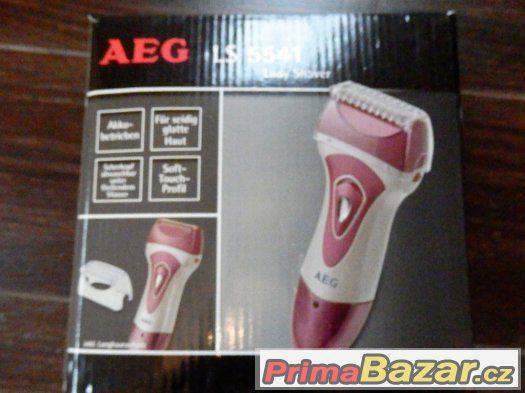 Dámský holící strojek AEG LS 5541 růžový