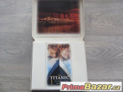 VHS TITANIC - sběratelská edice