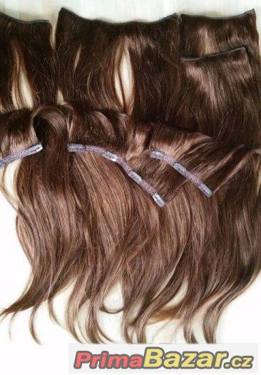 Clip in vlasy-lidské
