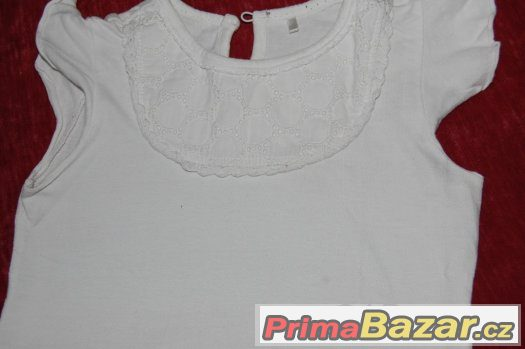 Bílé tričko vel. 104-110