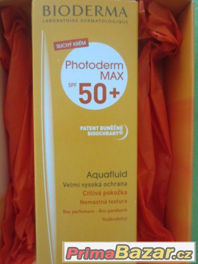 Bioderma Photoderm MAX Aquafluid SPF50 40ml - NOVÝ