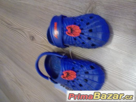 Pantofle Nazouváky Spiderman-Nové-Walky vel.24