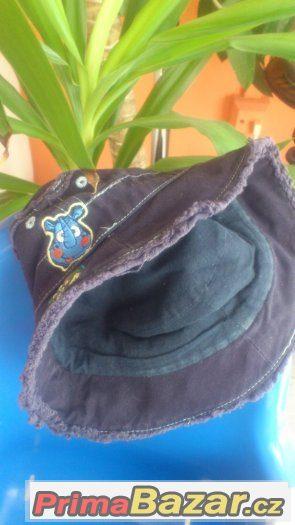 Dětský klobouček  6-12m