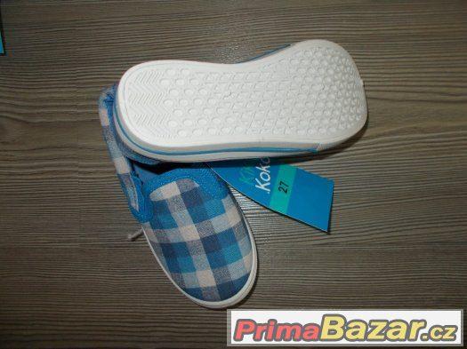 Plátěnky Plátěné boty vel.27 stélka 17,5cm