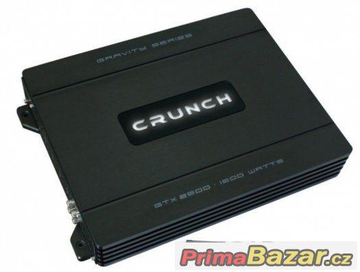 Prodám a nebo vyměním zesilovač CRUNCH GTX 2600