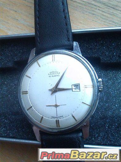 stare hodinky PRIM TRAKTOR hezke CSSR 136c8f860e4