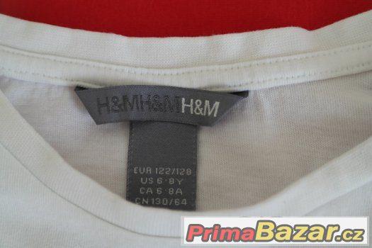 TRIKO H&M 7-9 LET, 122/128