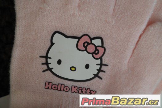 NOVÉ RUKAVICE HELLO KITTY Z H&M - 1-4 ROKY