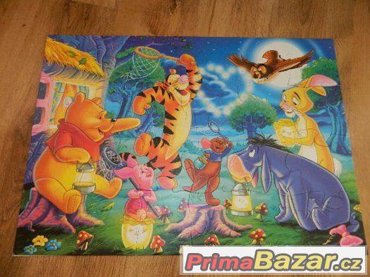 Ravensburger MAXI puzzle Mašinka Tomáš, Medvídek Pú