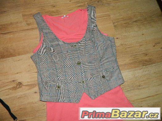 Blind Date nádherná vesta + top