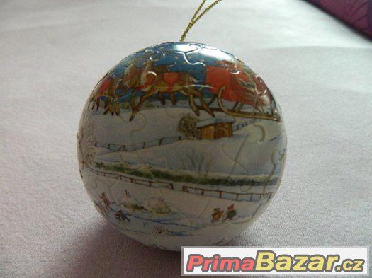 PUZZLE BALL - moře, globus, pokémon, vánoce ...