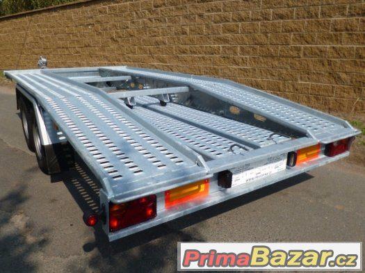 PROFI autopřepravník - rovný předek, 410x195 cm, 130 km/h