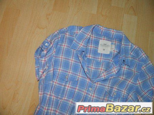 H&M pěkná moderní košile + tílko + korálky