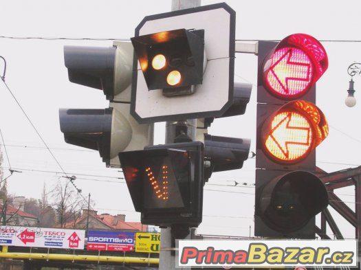 SHANIM  Návěstidlo pro TRAMVAJ semafor návěst SHÁNÍM
