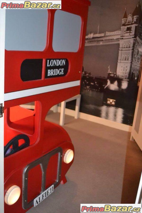 Dětská postel London bus