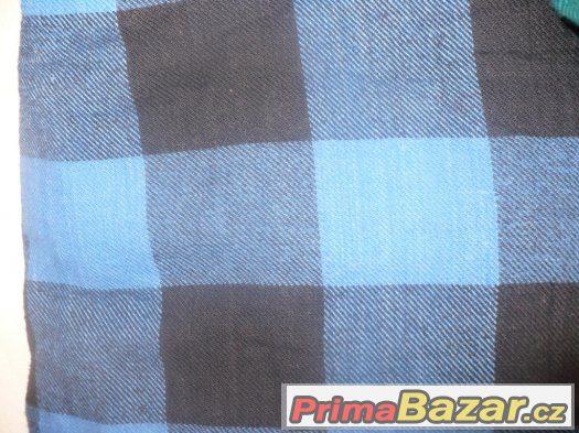 Sada 5 chlapeckých - pánských flanelových košil