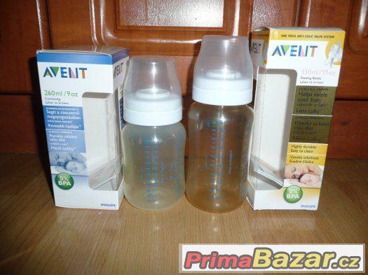 Kojenecké lahve Avent