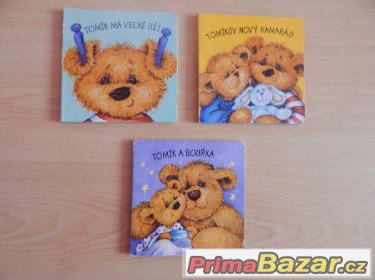 Dětské knížky o medvídkovi Tomíkovi