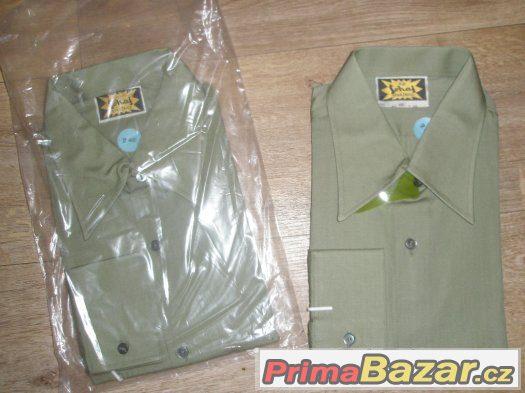 dvě nové skautské košile Šohaj