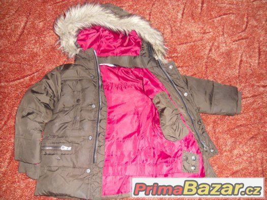 Peřová zimní bunda