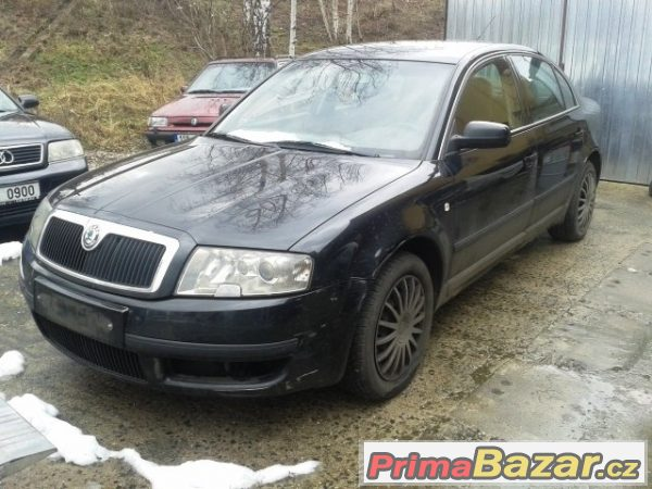 Škoda Superb na ND r.v. 2005  AVB