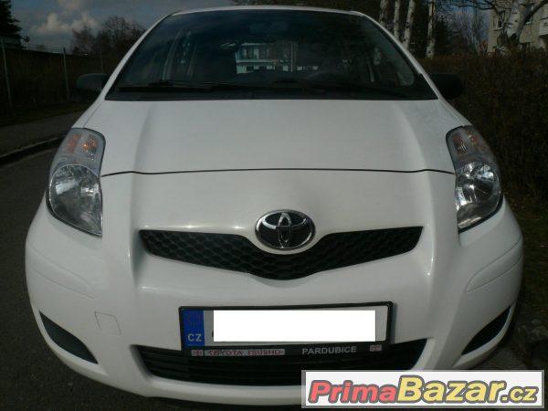 Toyota Yaris 1,0 r.v.2009 koup.v ČR