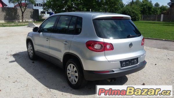 Volkswagen Tiguan nafta 5/2011