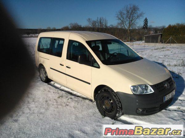Volksvagen Caddy Maxi 1,9tdi