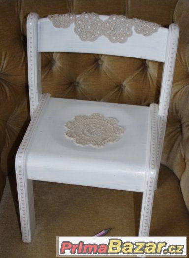 nepoužitá vintage ŽIDLIČKA stolička