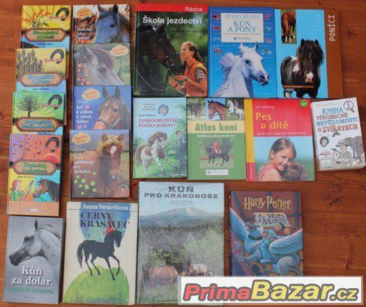 Prodám knihy, většinou o koních a tvůrčí dílny