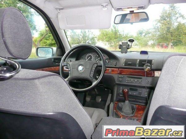 Spolehlivé BMW 525TDS  e39