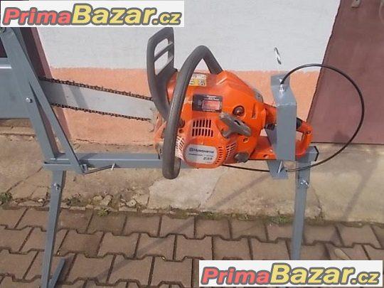 Cirkulárka, stojan na řezání dřeva