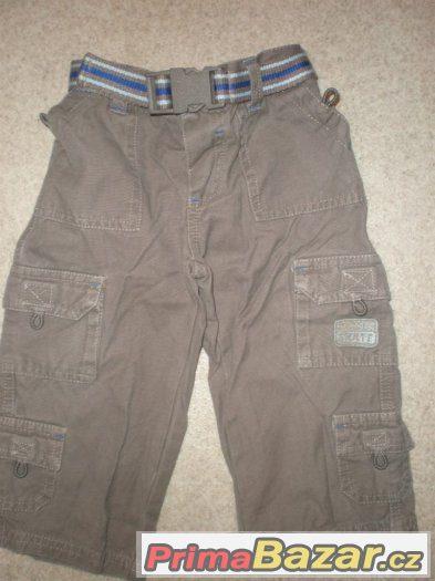 kalhoty 6-12 měsíců