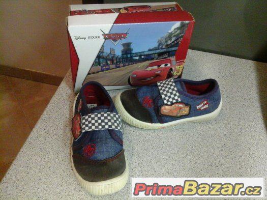 Tenisky Disney Cars vel.24