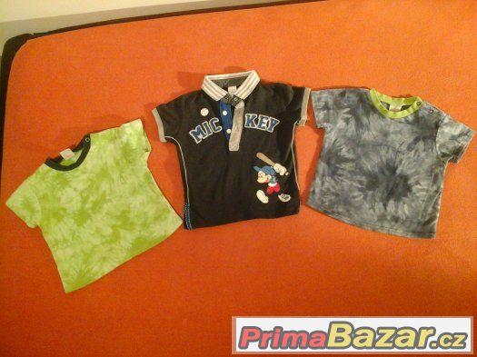 Set svetry, trička a dupačky vel.74-80