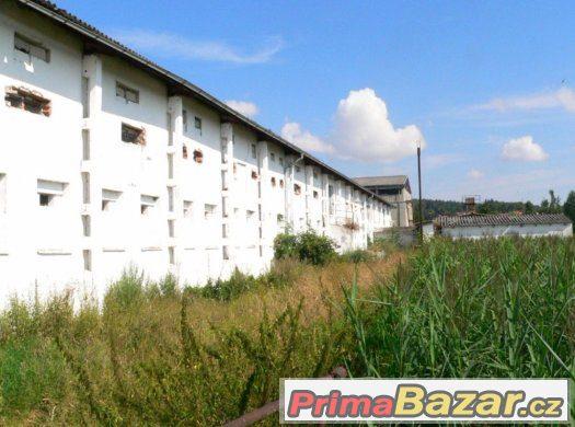 Mirotice Boudy Hala 2000 m2, 2 patrová + poz 5000 m2
