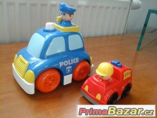 Mé první policejní a hasičské auto, jako nové