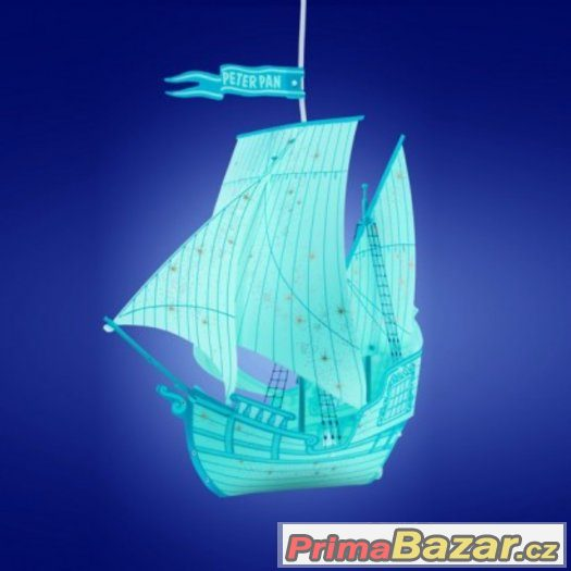 Dětské svítidlo loď PETER PAN