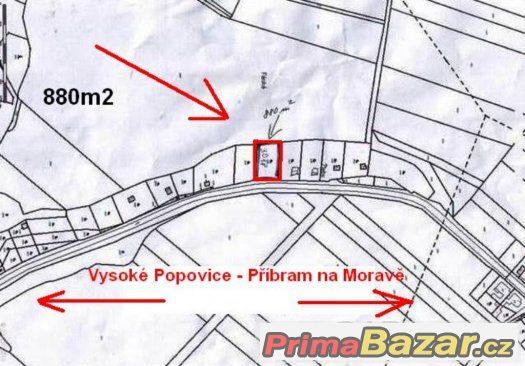 St.pozemek Příbramu v Rosic- pro celoročně obyvatelný objekt