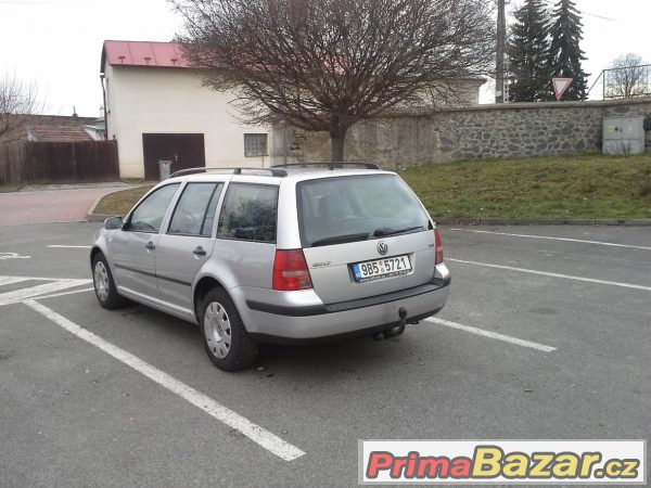 VW Golf variant 1,9 TDi