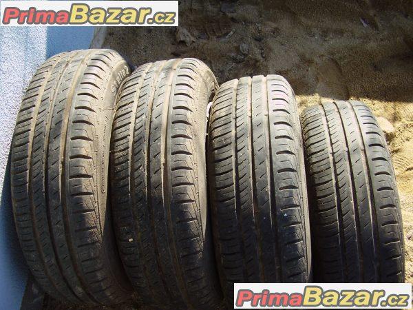 Prodám 4ks letních pneu.