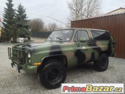 Chevrolet Blazer K5 Us Radiovuz M1009 Nymburk Sbazar Avzo Bazo