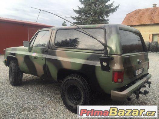Chevrolet blazer K5 us radiovuz M1009