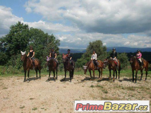 Letní pobytový tábor s koňmi